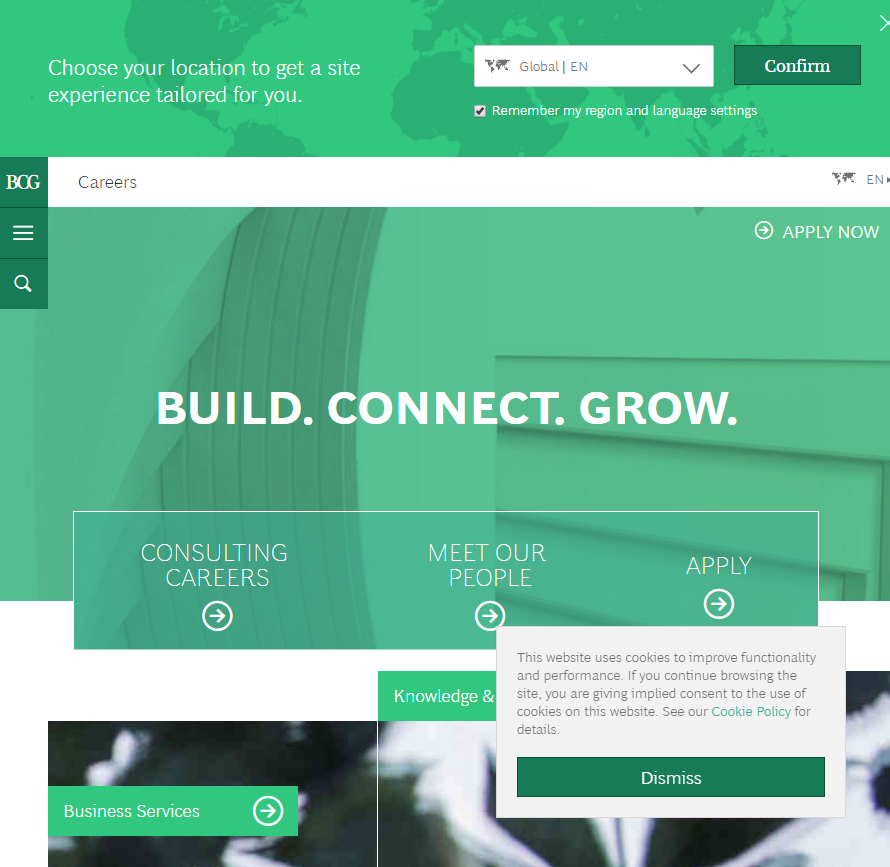 best-company-career-sites-bcg-ongig