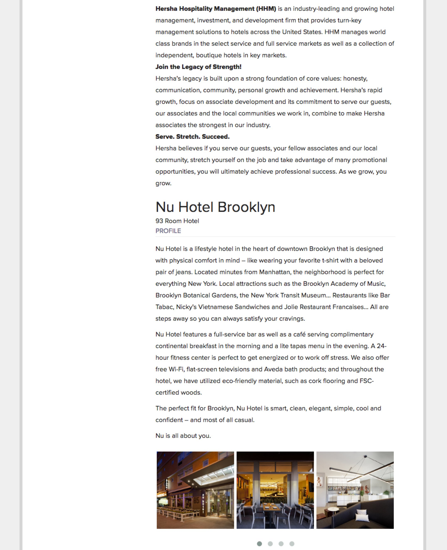 Best Job Descriptions Sample Hotel HHM Ongig Blog