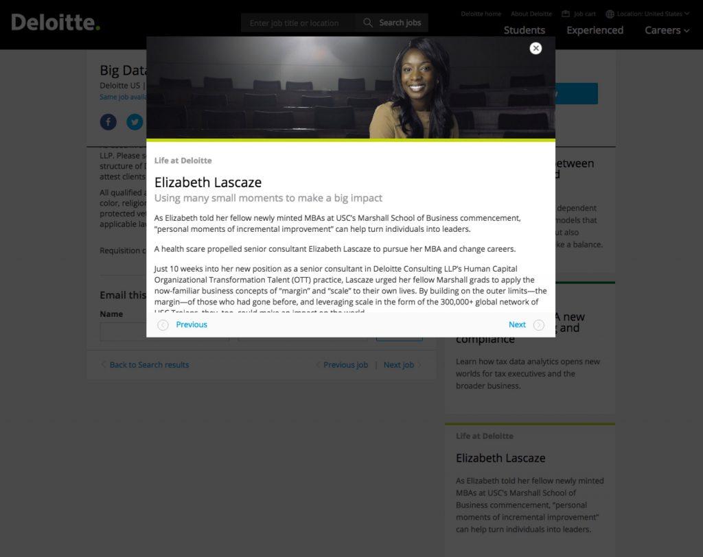 Best Job Descriptions Sample Deloitte