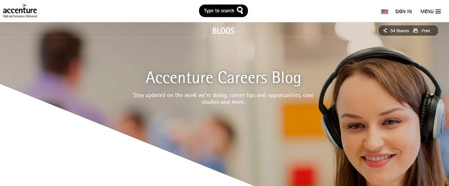 Accenture Careers Blog