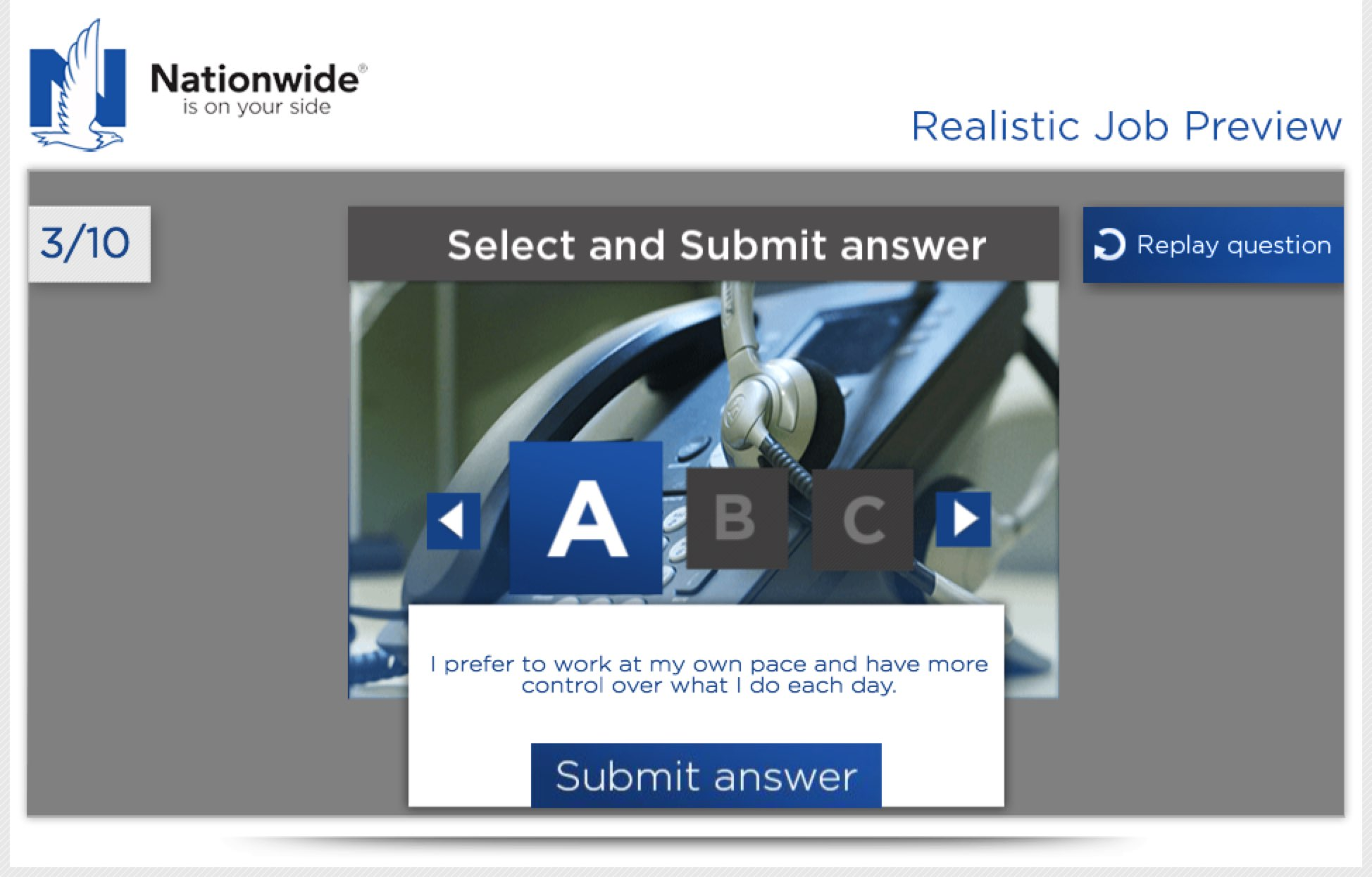 Realistic Job Preview Example by Nationwide Insurance | Ongig Blog