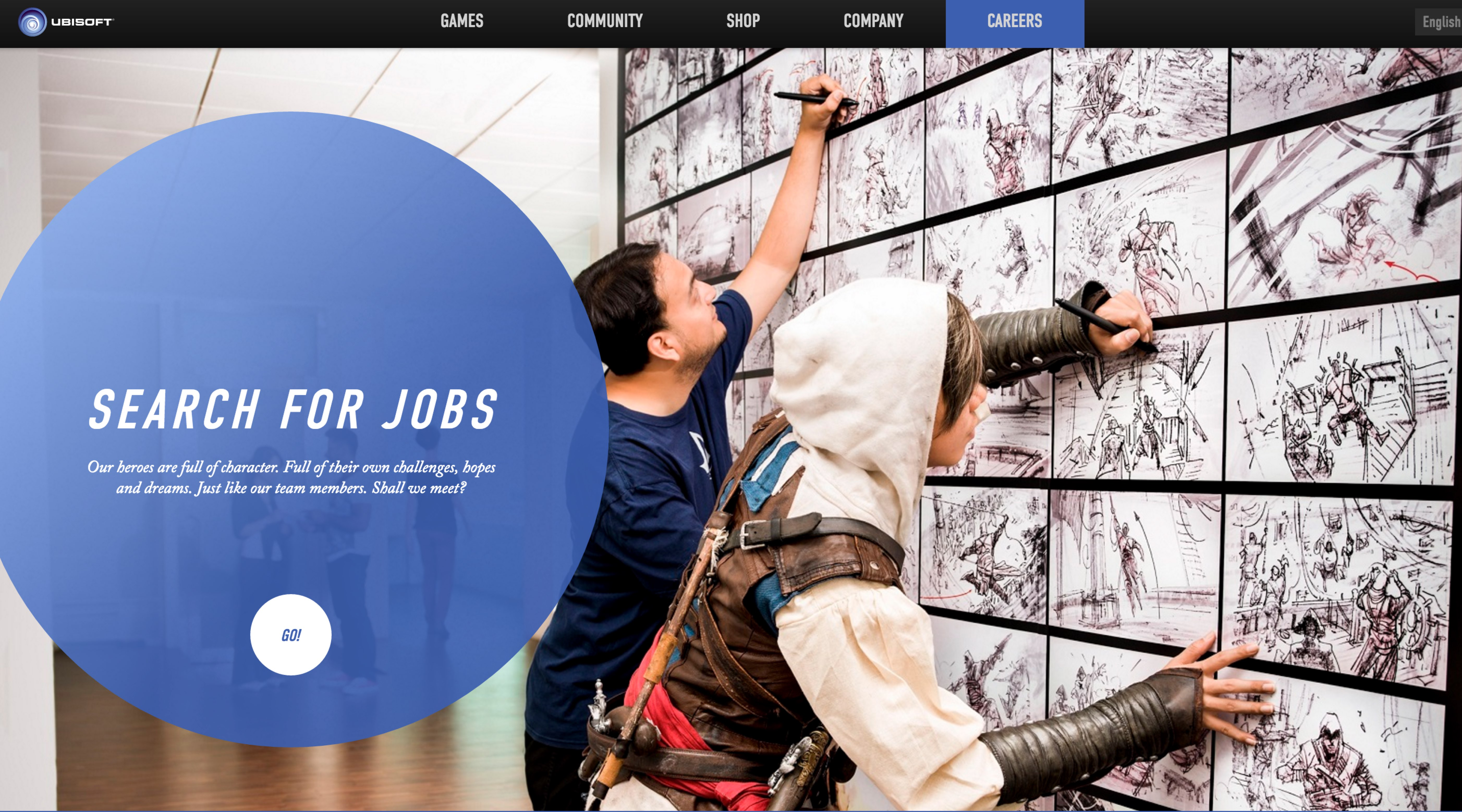 Best Company Career Sites Ubisoft Ongig Blog