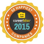 CareerBliss 50 Happiest Companies Award Ongig Blog 2