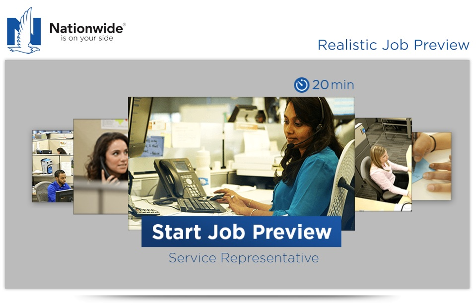 Nationwide Realistic Job Preview Cover