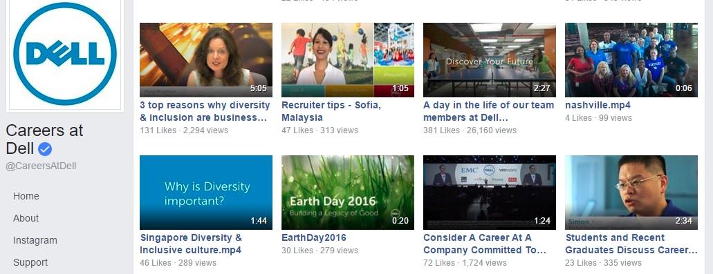 Dell employer branding videos ongig blog 2