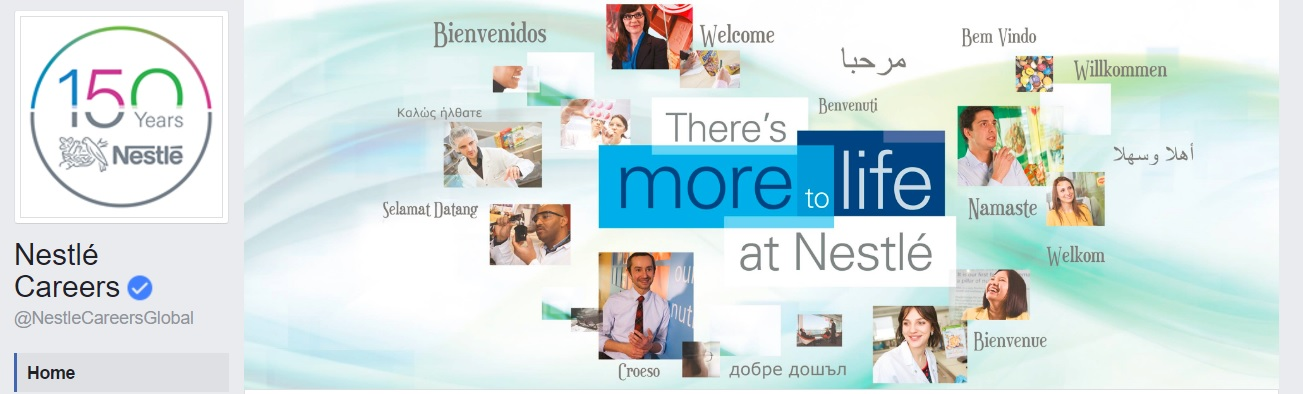 Nestle Facebook Careers Page Cover Image Ongig Blog