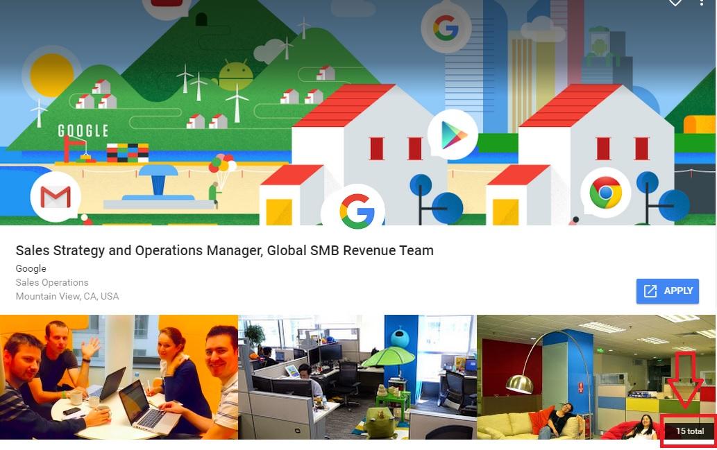 Google Job Description Sales Strategy Manager Ongig Blog