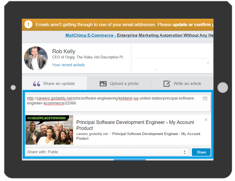linkedin-newsfeed-job-description