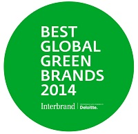 Interbrand best global green brands award Ongig Blog