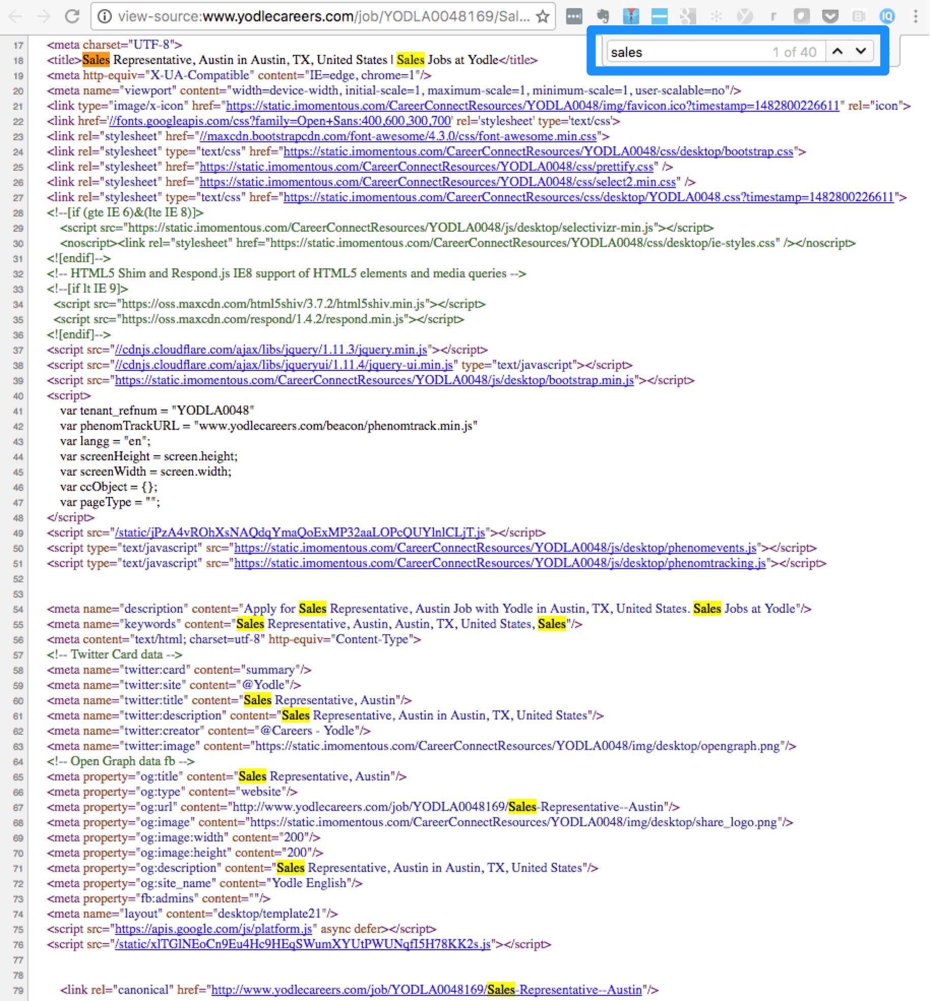 recruitment-seo-keyword-density-yodlee-job-description-ongig-blog