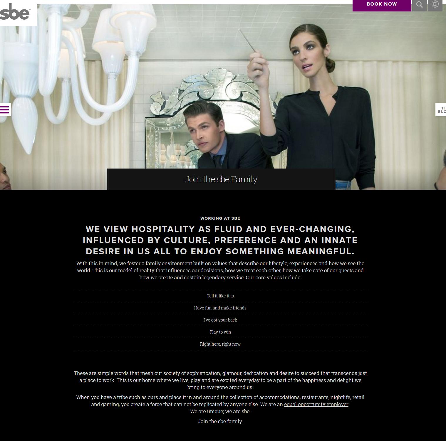 SBE Company Career Site