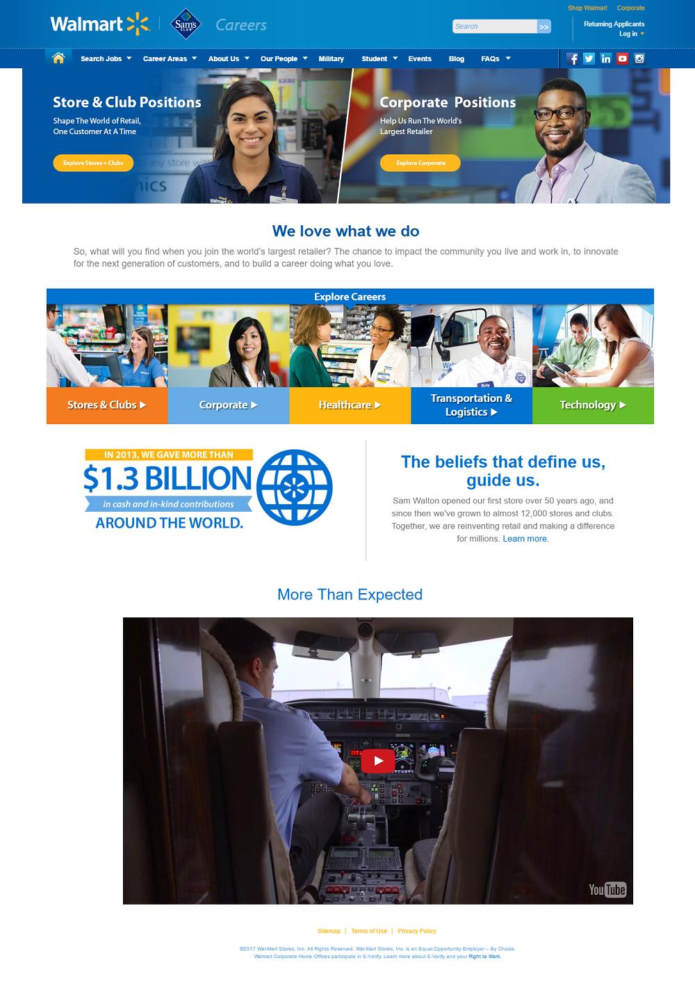 Best Company Career Sites Walmart - Ongig Blog