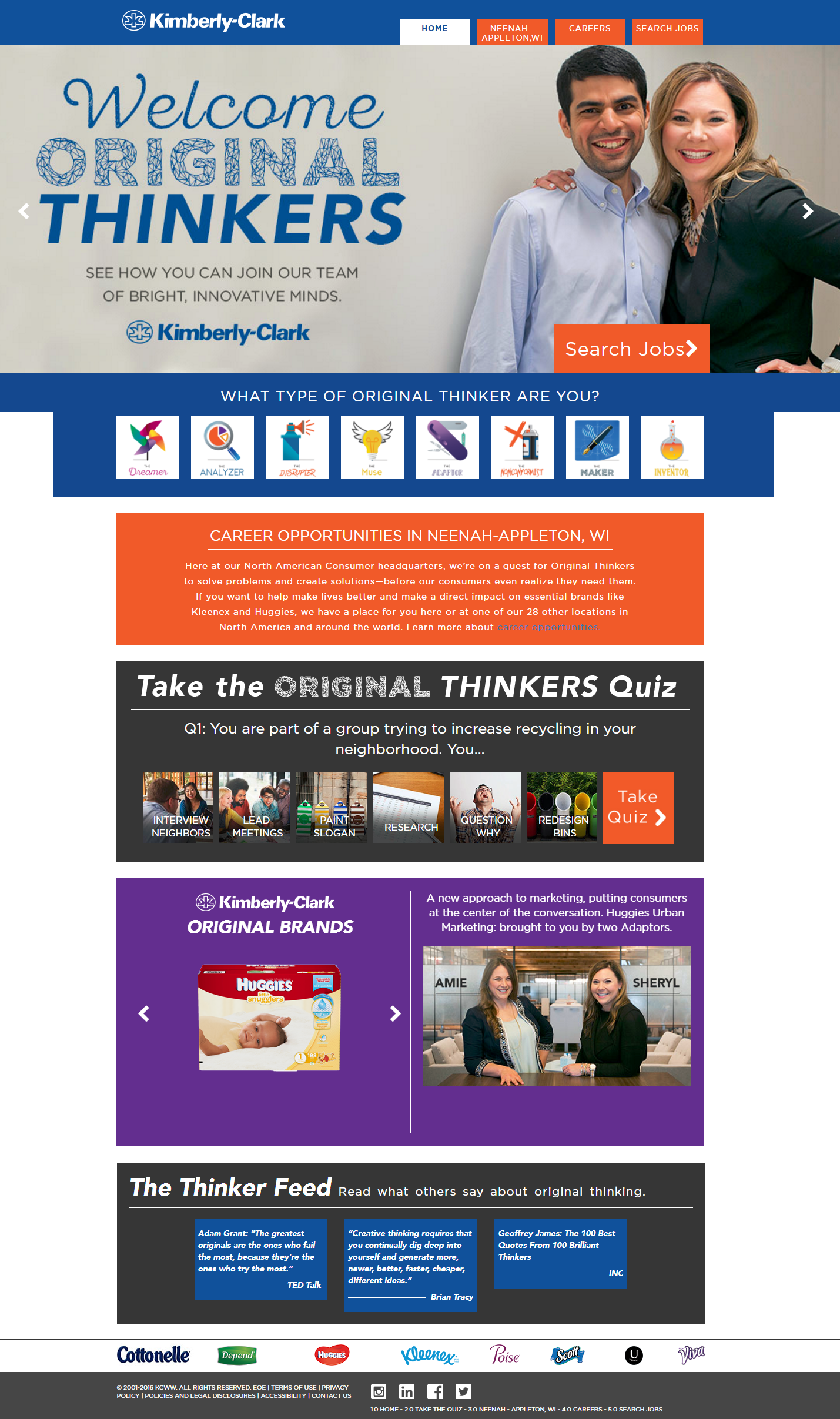 Top Company Career Site Kimberly Clark - Ongig Blog