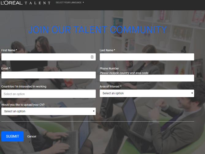 L'Oreal Talent Community