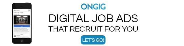 Digital Job Ads That Recruit For You Banner - Ongig