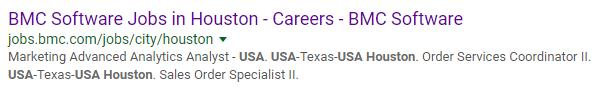 Location Specific Jobs Microsite