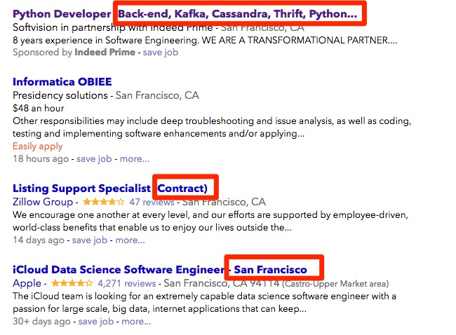 this applies to both job postings on job boards as well as on your own company career site here are a few job postings from indeed that have unnecessary - Responsibilities Of A Software Engineer
