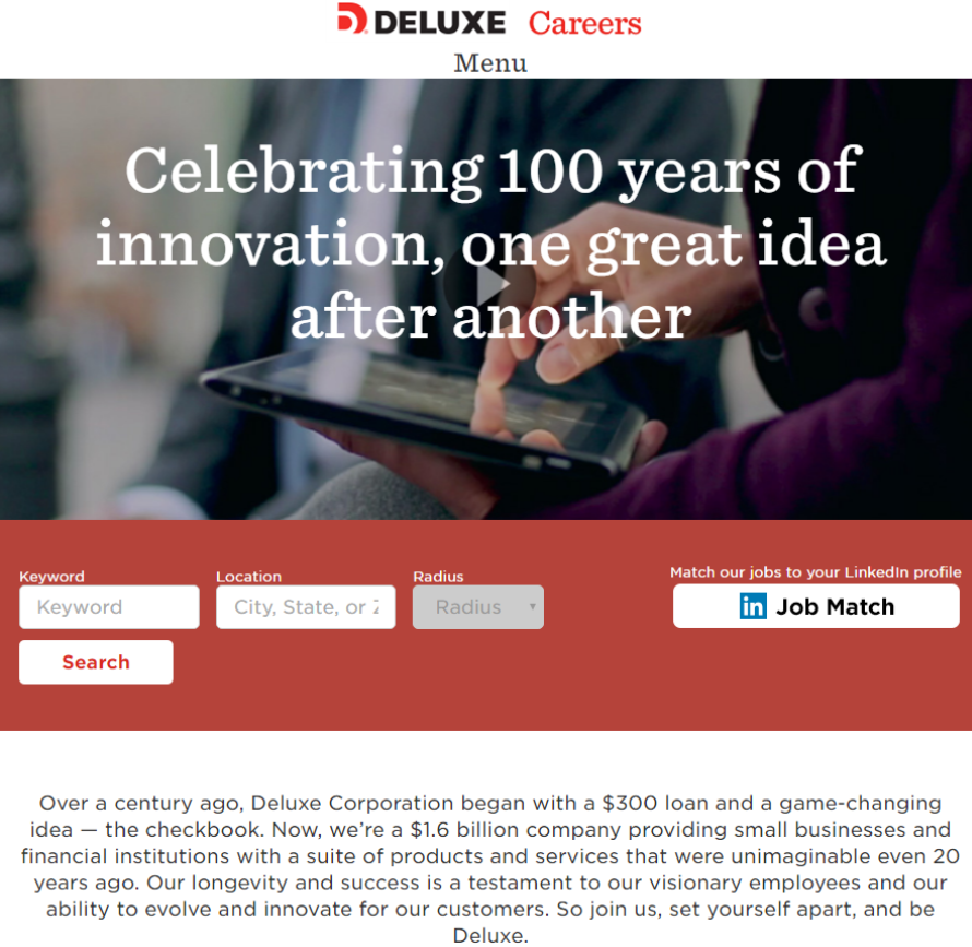 best-company-career-sites-deluxe-ongig