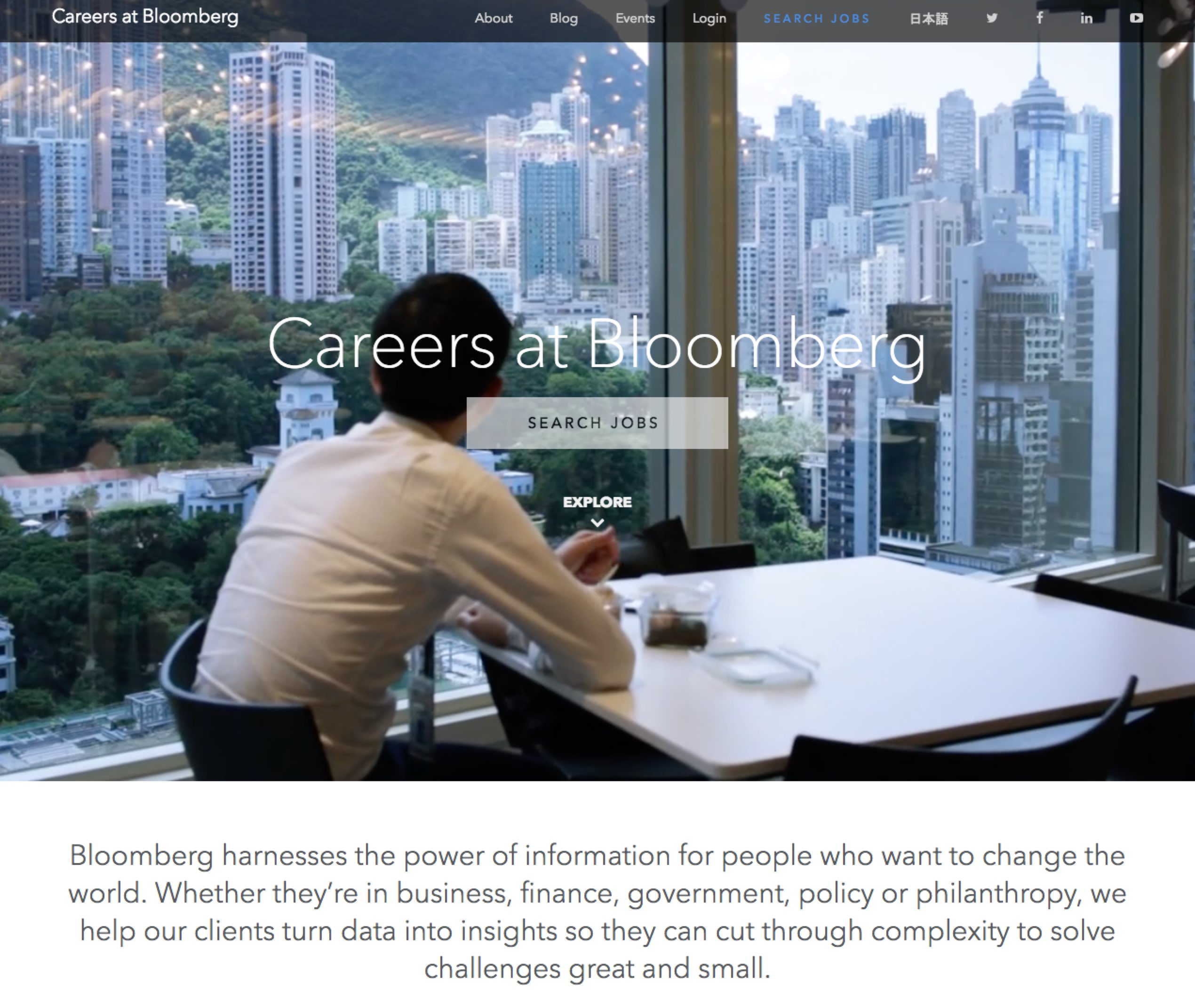 Best Company Career Sites Bloomberg Ongig Blog