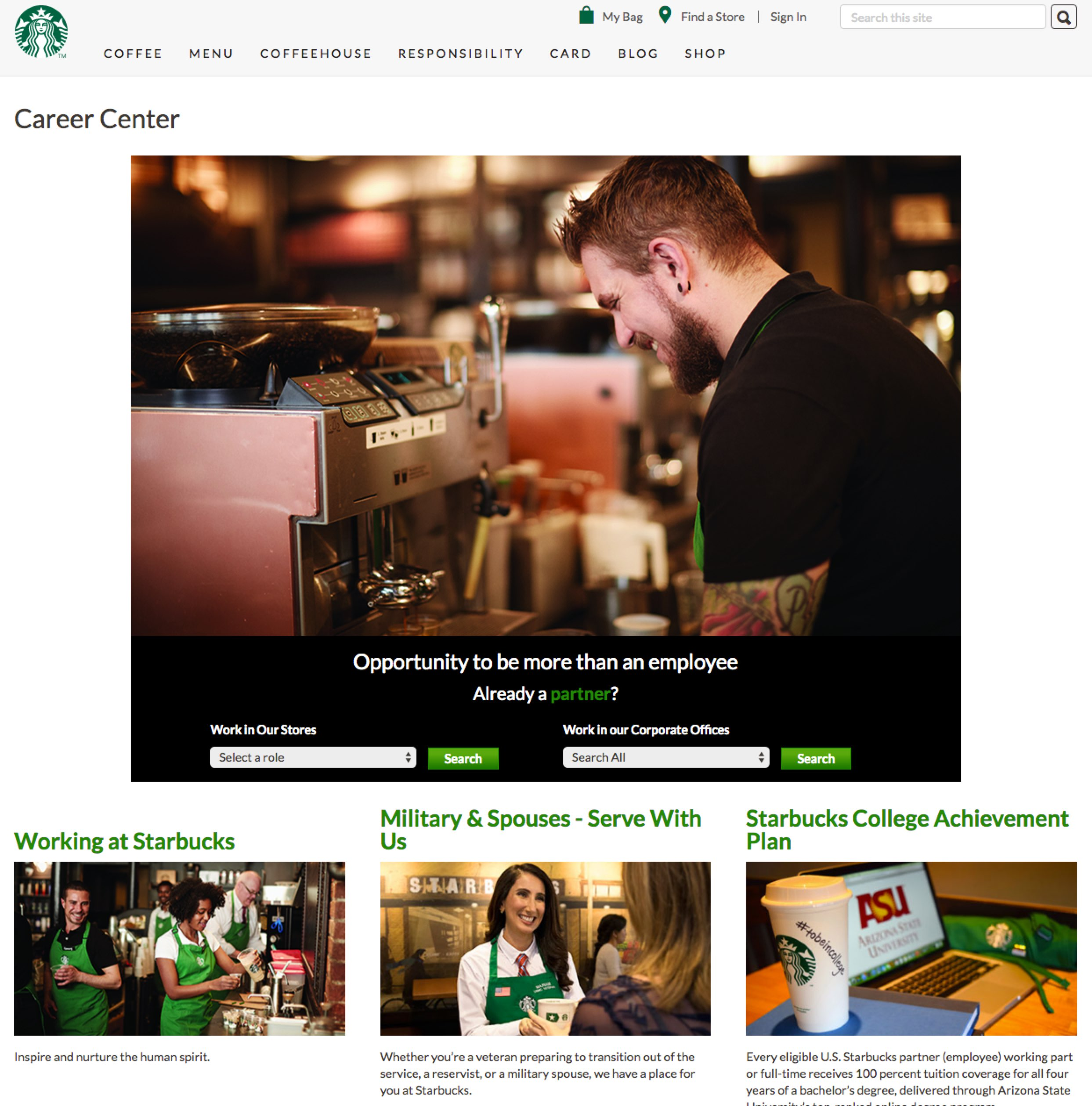 Best Company Career Sites Starbucks Ongig blog-1