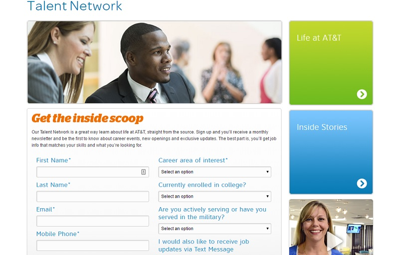 Best Company Career Site Ideas Talent Network Ongig