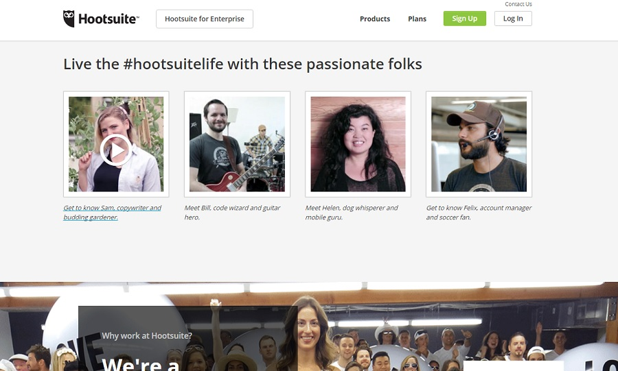 Hootsuite Careers Videos