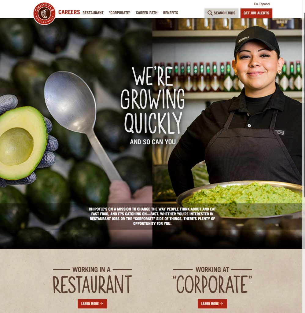 Best Company Career Sites Chipotle Ongig Blog