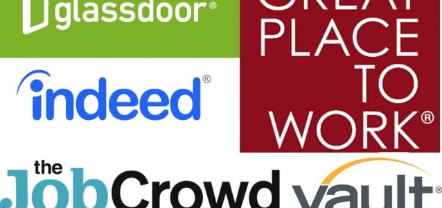 top employer ratings and review site logos