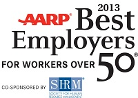 AARP best employers for workers over 50 award