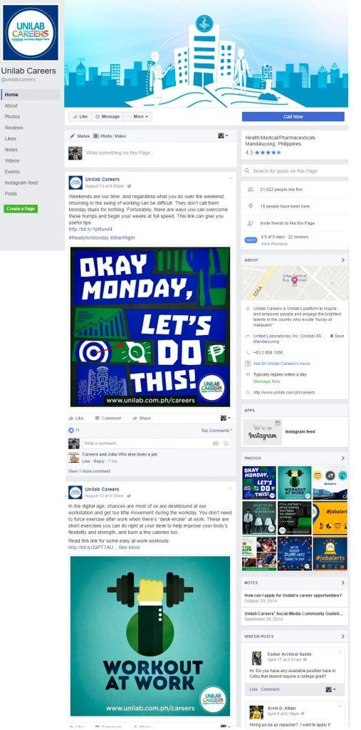 Unilab Whole Facebook Page Ongig Blog