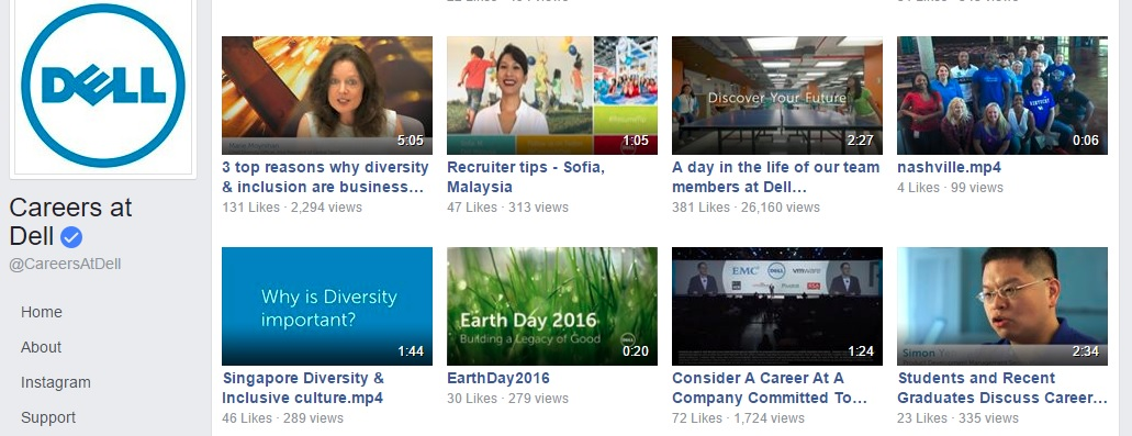 Dell employer branding videos ongig blog 2