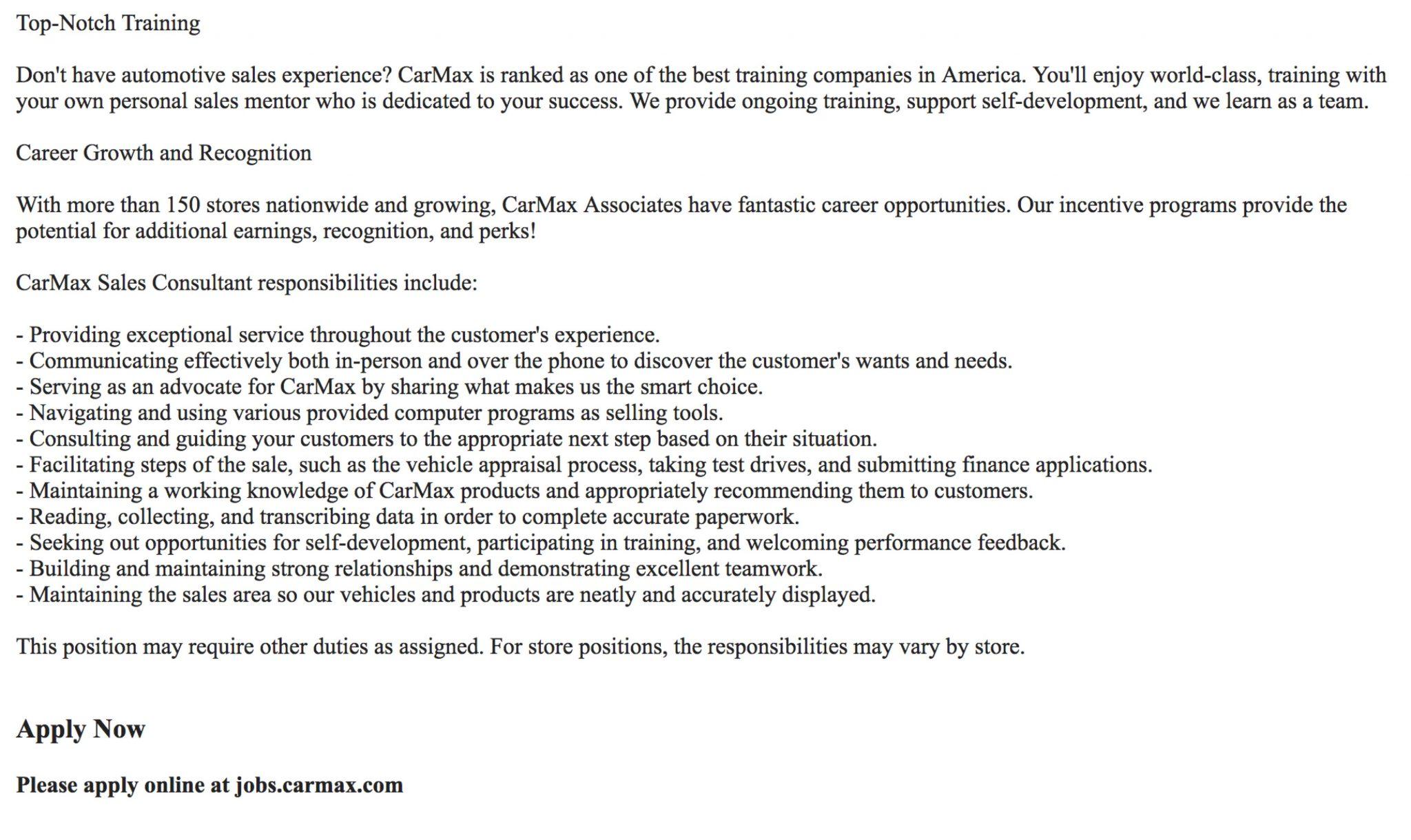 carmax-job-description-employer-of-choice-media-map-ongig-blog