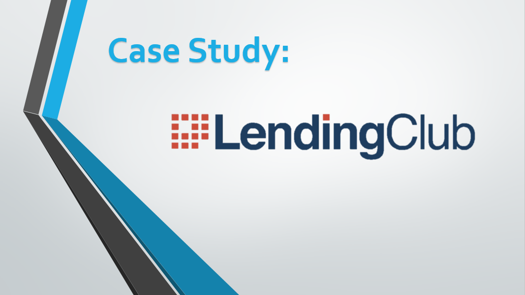 Lending Club Case Study Cover