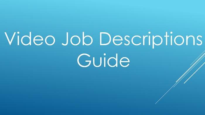 Video Job Descriptions Guide