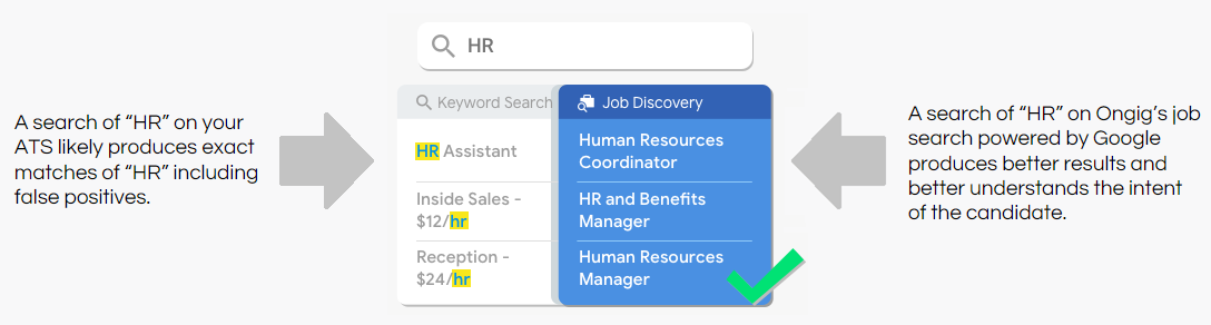 Google jobs cloud discovery search query