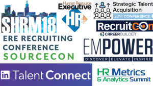 Upcoming 2018 People, HR, TA, Recruiting Conferences Cover