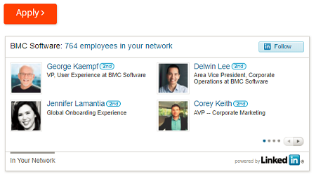 LinkedIn Widget on Dynamic Job Descriptions