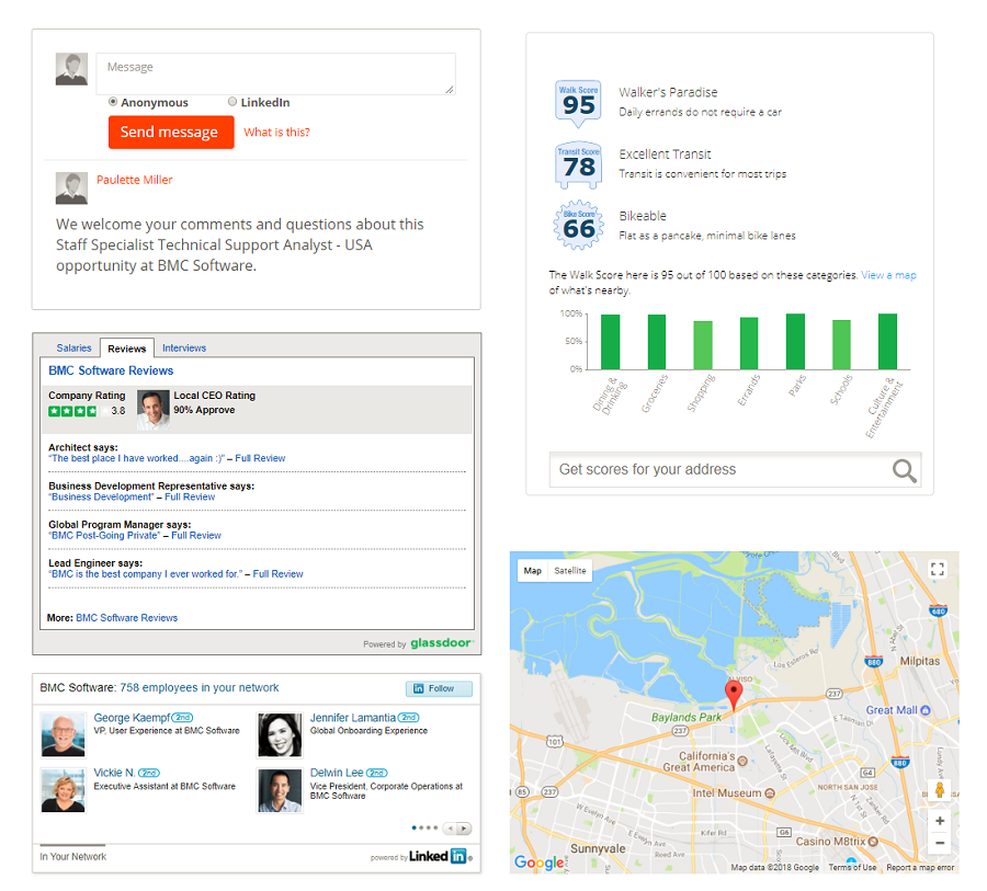 recruiting widgets you can put on your job pages