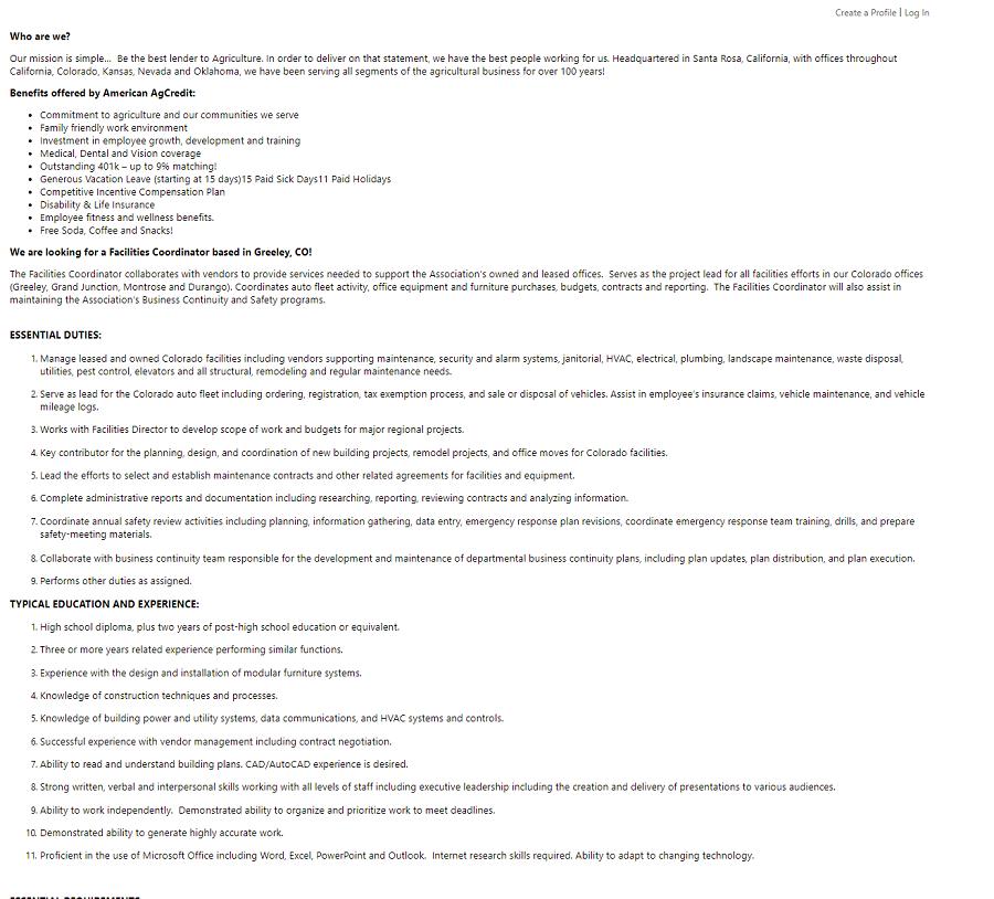 Taleo ats job description recruiting content