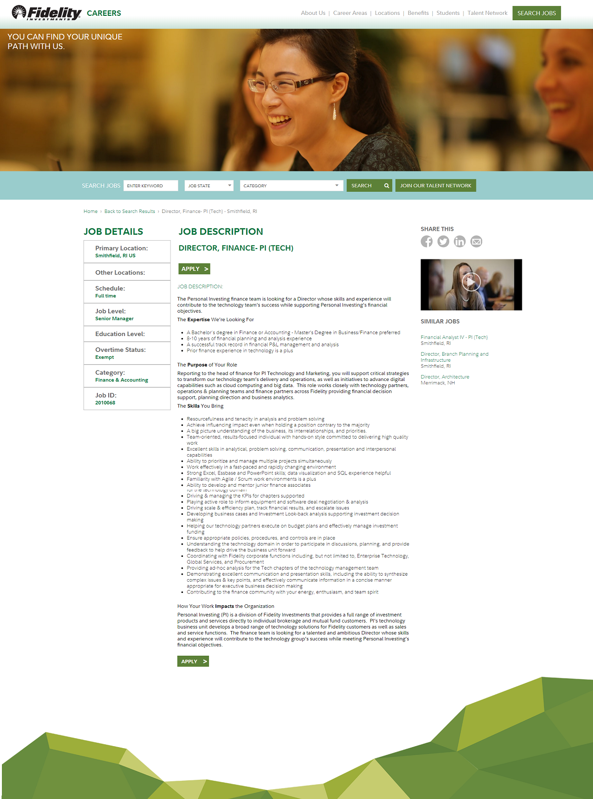 fidelity workday job page overlay