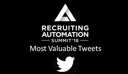 Entelo Recruiting Automation Summit Most Valuable Tweets Cover Ongig