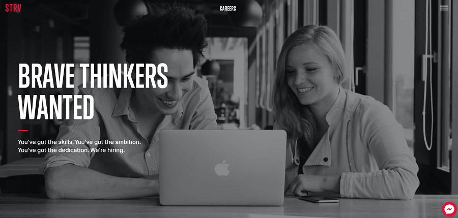 STRV Company Career Page