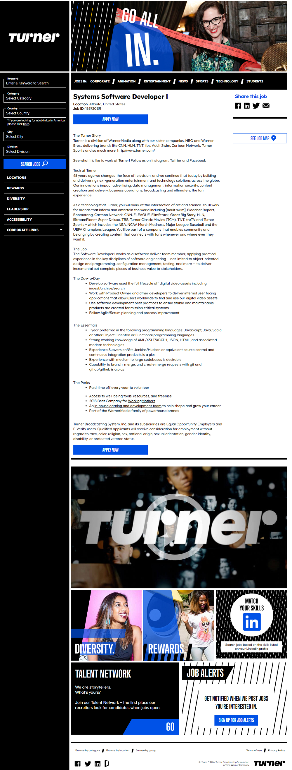Turner job description