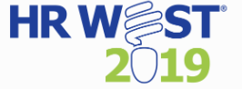 HR west conference logo
