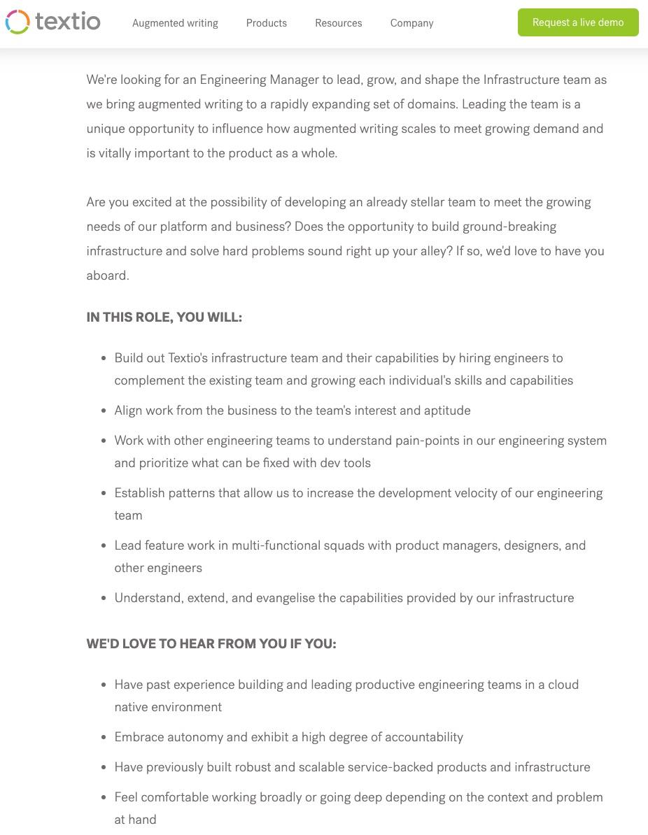 25 Examples of Well Written Job Descriptions [With Tips!]  Ongig Blog Regarding Job Descriptions Template Word