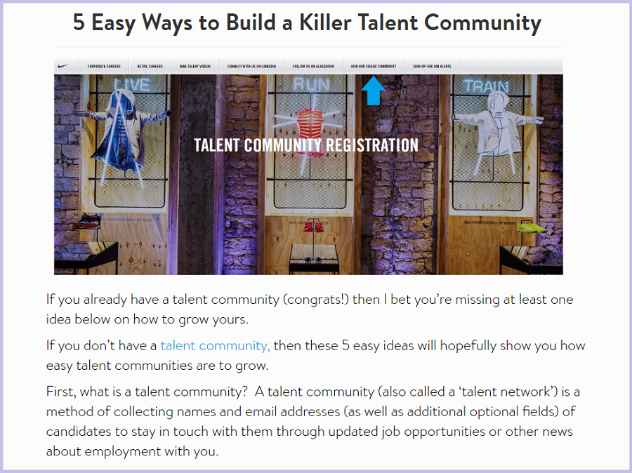 5 Easy Ways to Build a Killer Talent Community