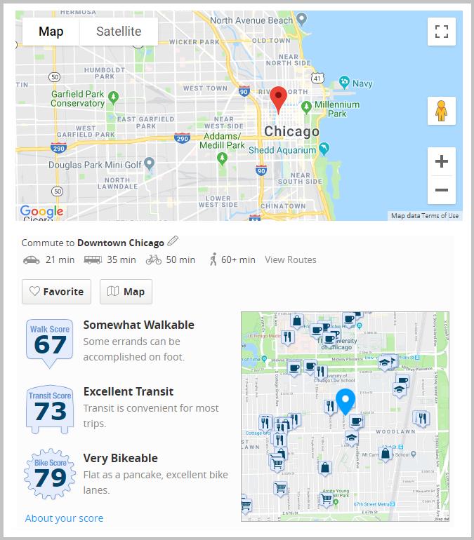 Chicago recruiting microsite widgets