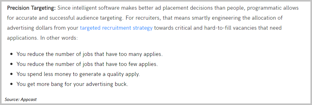 targeting with recruitment marketing