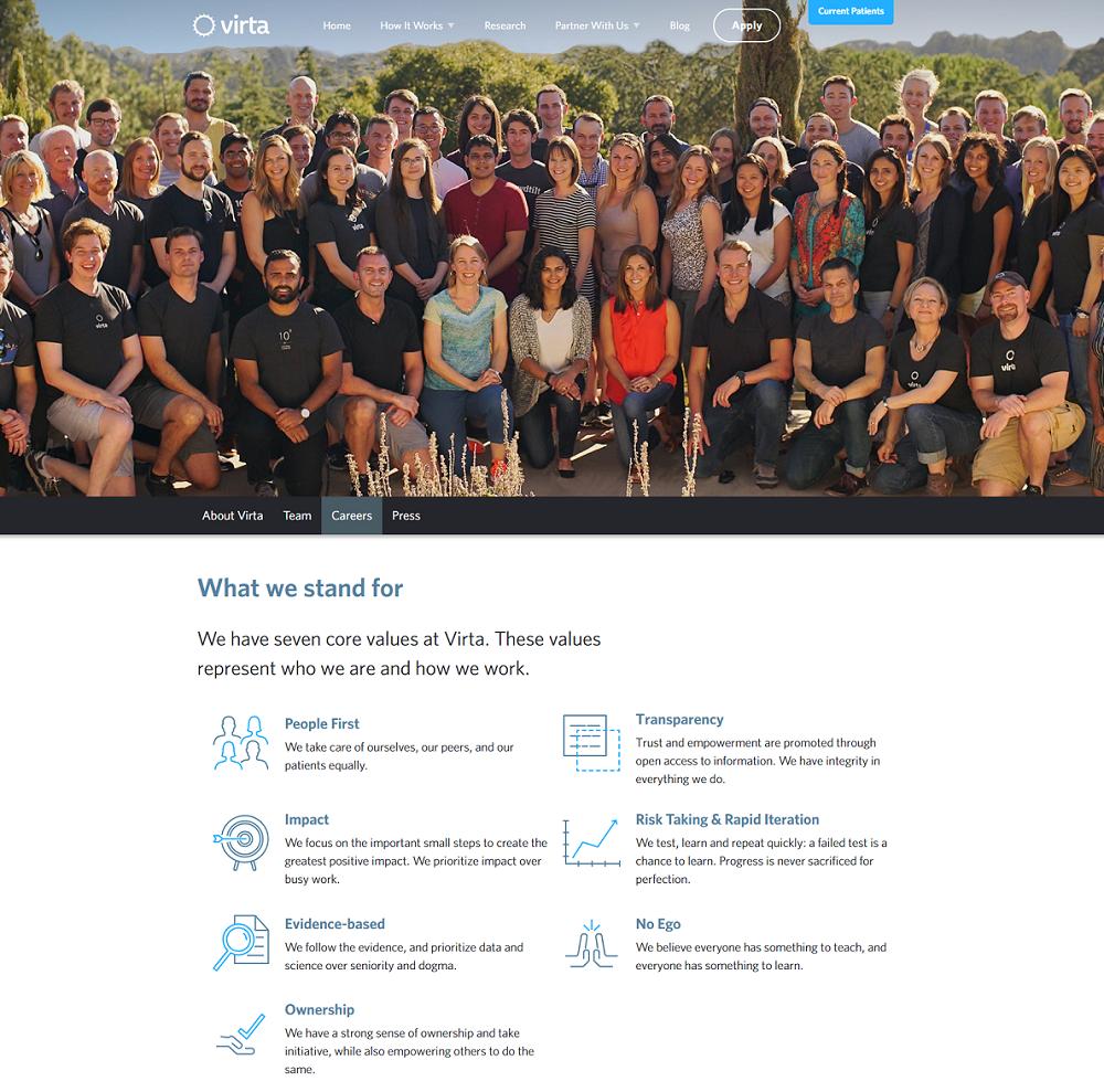 virta company career page