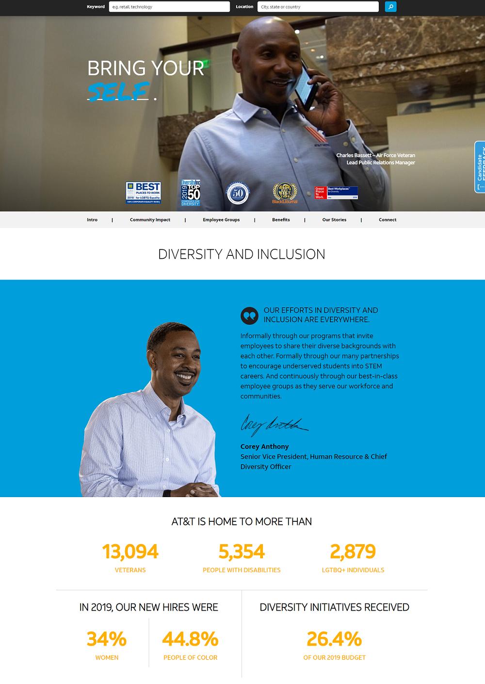 att diversity page
